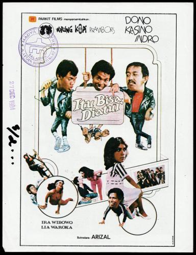 Poster-Film-Warkop-Itu-Bisa-Diatur