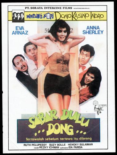 Poster-Film-Warkop-Sabar-Dulu-Dong